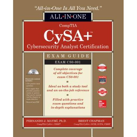comptia cysa+ study guide exam cs0 001