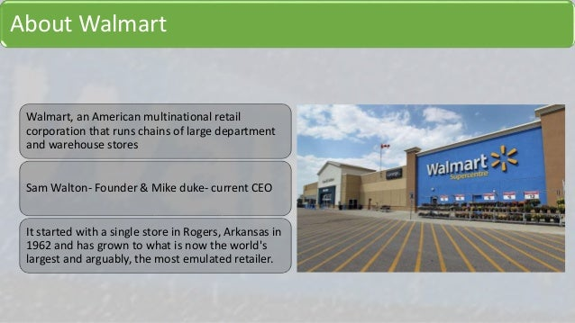 walmart supply chain case study pdf