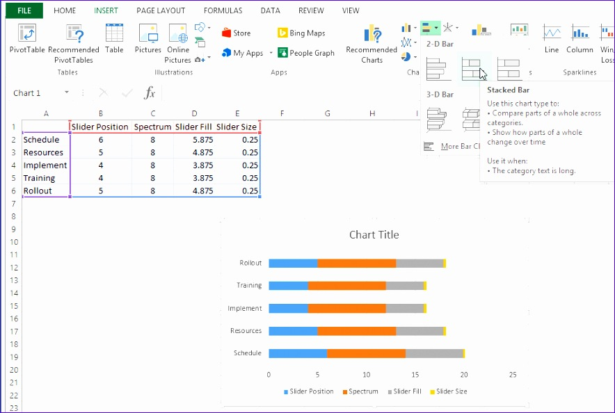 how to print excel chart to pdf