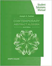 solutions manual introduction to abstract algebra