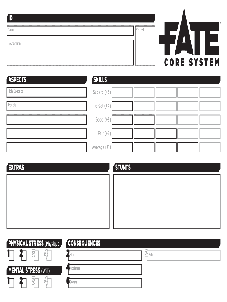 anime fate character sheet pdf