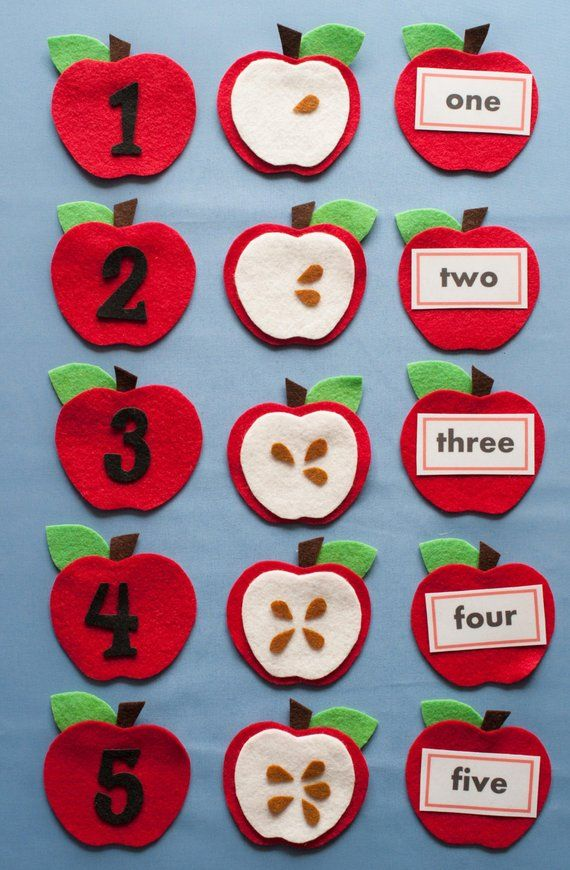 conting apples flannel for kids pdf