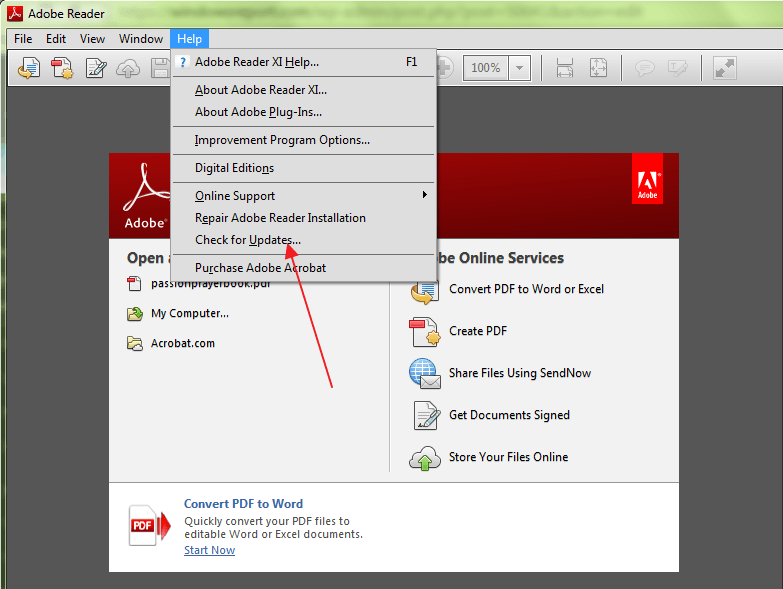 adobe reader pdf download for windows 10