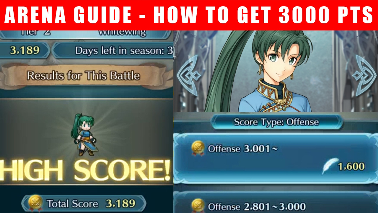 fire emblem heroes arena guide