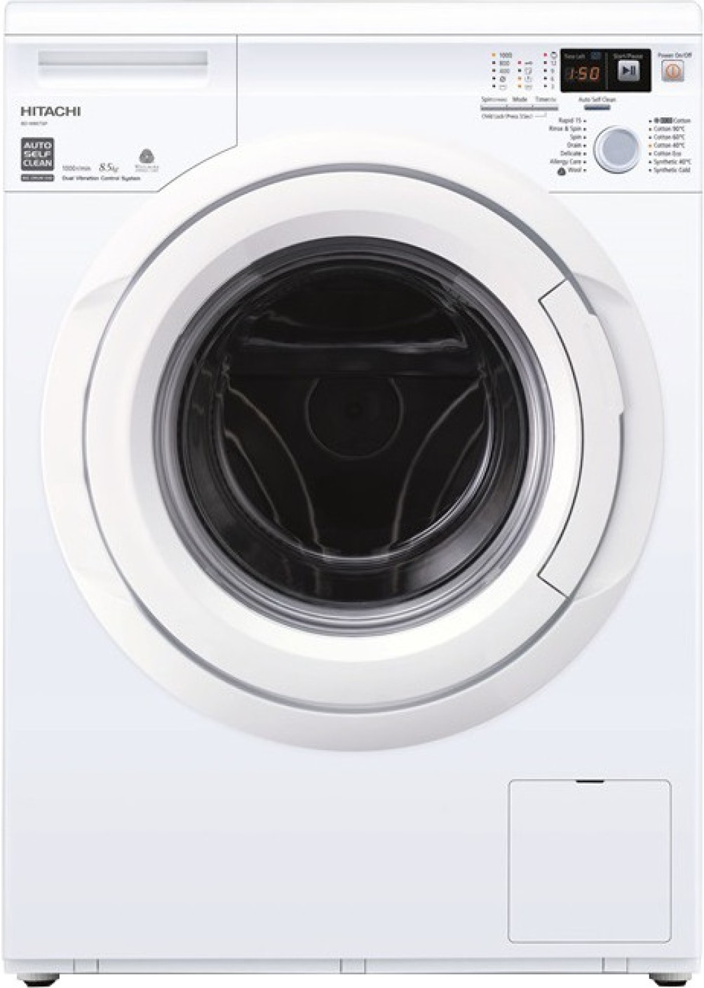 hitachi fully automatic washing machine manual