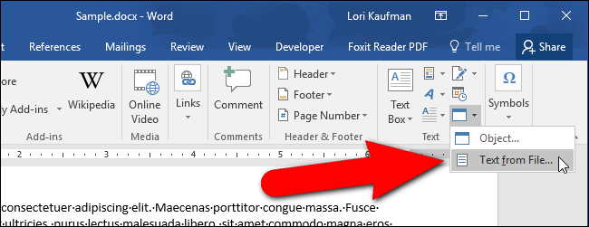 how to add texts in pdf file