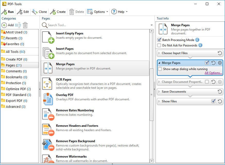 how to merge pdf pages