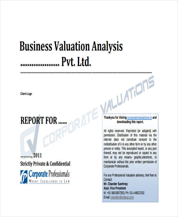 property valuation and analysis pdf