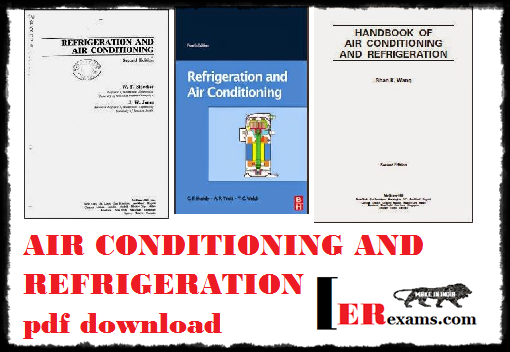 refrigeration and air conditioning stoecker pdf